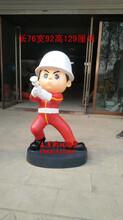 消防人物雕塑制作消防主题消防员雕塑图片