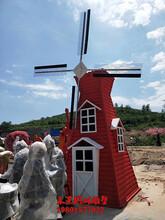 风车雕塑风动雕造型图片图片