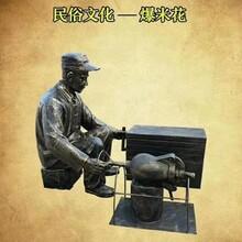 玻璃钢街头小吃雕塑民俗文化民俗小吃雕塑图片