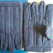 三指棉手套五指耐高溫隔熱棉手套烤爐燜子棉手套圖片