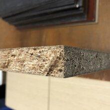 紫珊瑚原木颗粒板饰面板生态板加工生产图片