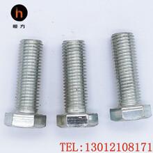 8.8級1680熱鍍鋅六角螺栓達克羅電力鐵塔螺栓45號鋼恒方緊固件圖片