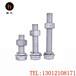 現貨供應4.8級熱鍍鋅螺栓M16熱浸鋅螺絲光伏螺栓電力螺栓