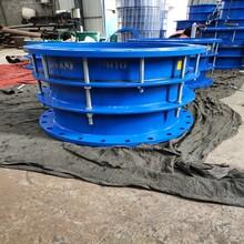 鋼制伸縮器DN400鑄鐵伸縮器林茂B2F不銹鋼雙法蘭限位伸縮器廠家圖片