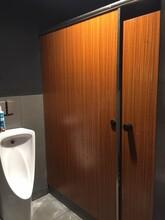 惠东龙门鑫雅卫生间隔断板公共洗手间隔断工程安装图片