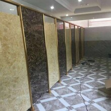 睢寧縣樂凱迪辦公洗手間素色學校公共衛生間隔斷板廁所隔斷門圖片