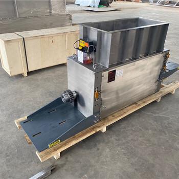 金三利1500型污泥切條機污泥干化機等配套設備