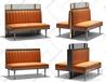 杭州餐廳家具、實木桌椅、卡座軟包沙發定做