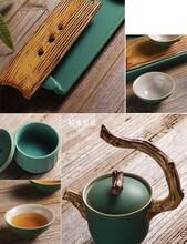 漢中醉茗尖陶瓷茶具供應商圖片