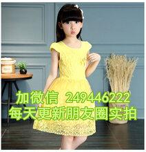 廣東陽江便宜衣服新款童裝連衣裙上市童裝批發外貿尾貨