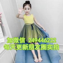 內蒙古呼倫貝爾夏季童裝連衣裙韓版童批發廠家直銷
