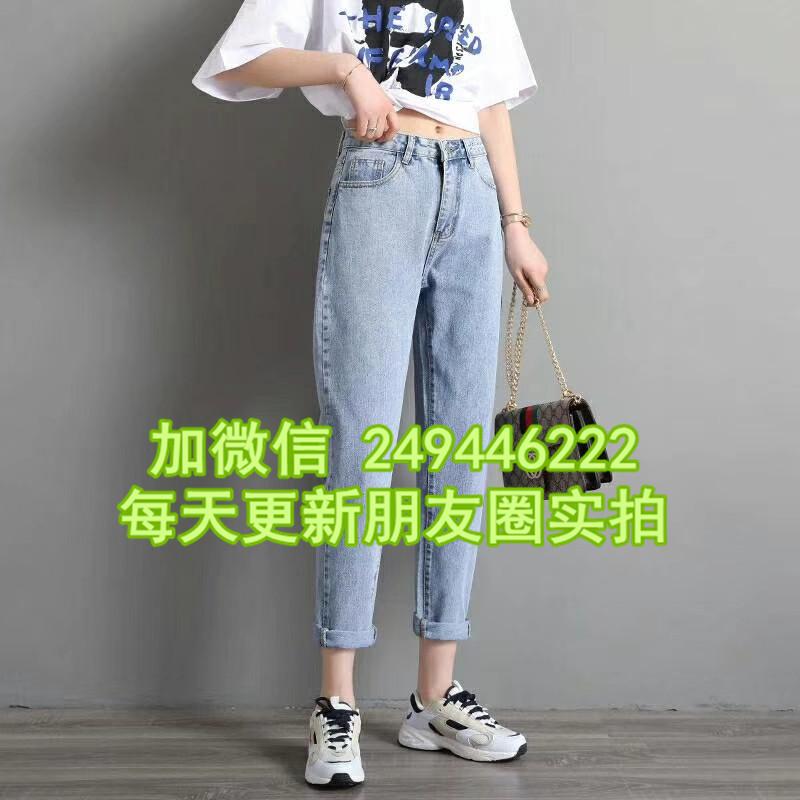 內蒙古烏海尾貨夏裝新款繡老褲 潮流套頭9分褲便宜衣服貨到付款