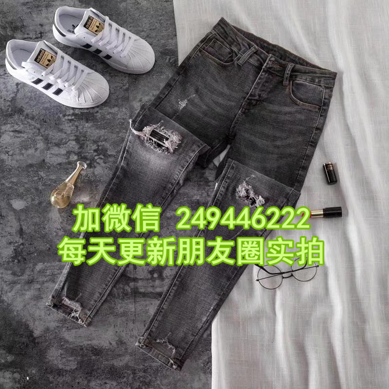 5元一條牛仔褲女 江西九江趕集貨源幾元錢的女老爹褲