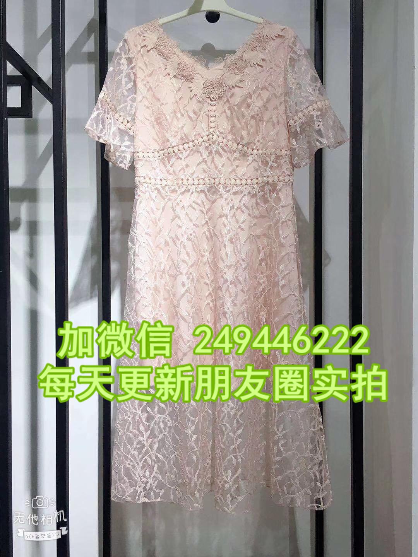 波西米亞中長裙女士大擺型連衣裙地攤貨源15元百貨