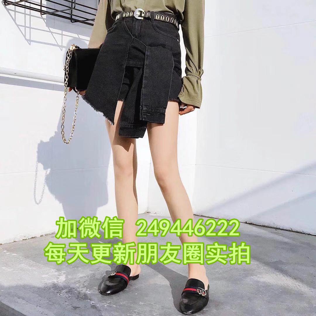 烏魯木齊服裝 磨破破洞女牛短裙褲1688庫存衣服網