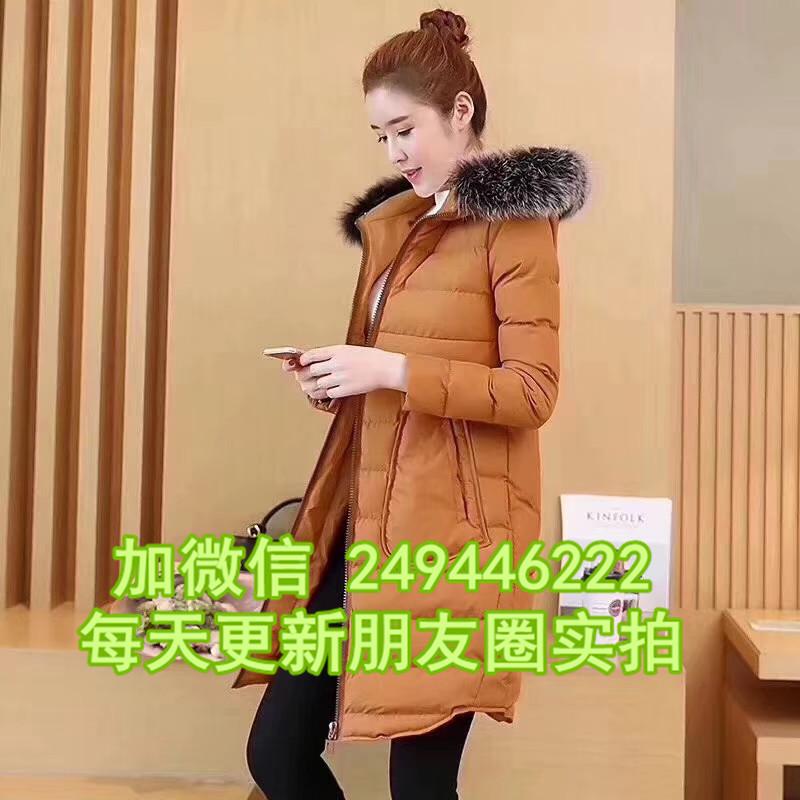 內蒙古阿拉善盟休閑地攤走量秋冬羽絨 幾元雜款女式棉服