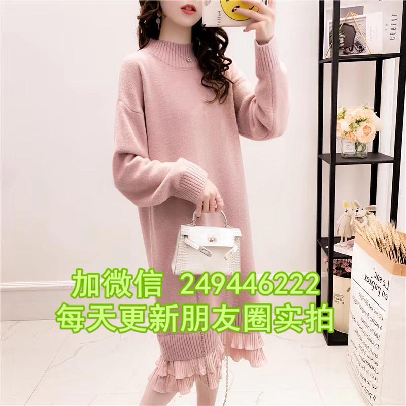 韓版大碼女針織衫 陜西寶雞批發尾貨幾元庫存女士毛衫