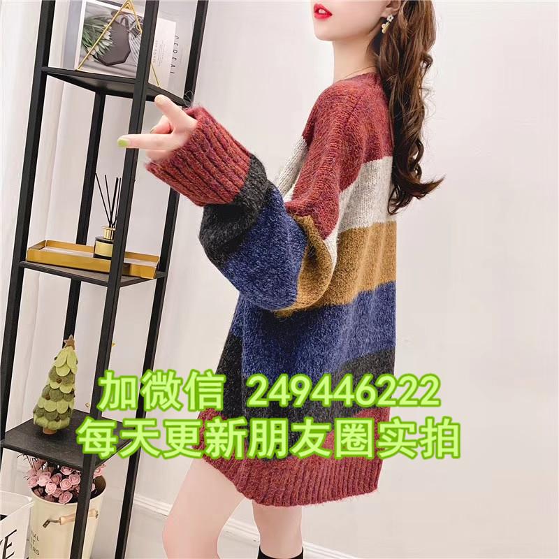 新款保暖女羊絨衫 陜西寶雞批發尾貨5元羊絨毛衣批