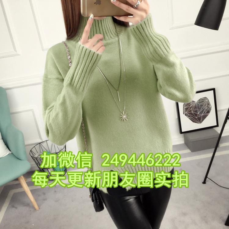 跑江湖地攤貨源2至7元雜款毛衣韓版大碼女針織衫