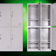 供应员工宿舍衣柜员工四门衣柜耐用员工宿舍衣柜价格图片