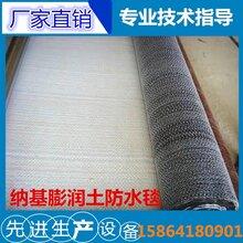 纳基膨润土防水毯5000g4000g6000g6mm膨润土防水毯图片