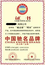 广东企业办理中国行业驰名品牌荣誉证书图片