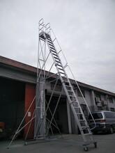 伸仕移动平台梯图片