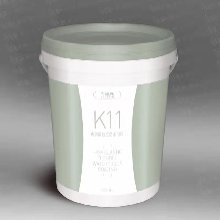 用高弹柔韧性K11防水涂料做地面图片