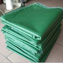 防雨防嗮帆布货场盖布工程篷布卡车盖布加密绿帆布防水布图片