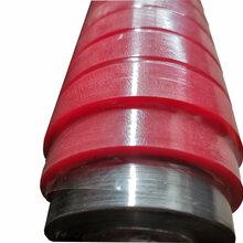 厂家定制压纸辊各种工业胶辊来图加工各种印刷胶辊图片
