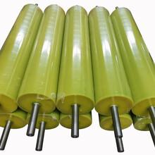 熔喷布设备胶辊挤出生产线胶辊导布辊筒分切复卷机胶辊图片