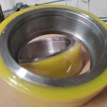 開卷機支撐輪聚氨酯耐磨膠輪PU承重輪非標定制軋鋼設備承重輪圖片