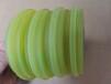 涂油輪pu膠輪聚氨酯腳輪耐磨送料輪非標定制萬向輪