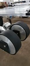 竑烨pu胶轮,开封耐磨铝材生产线胶轮图片