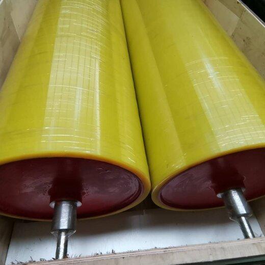 竑燁印刷膠輥,天津編織袋印刷機膠輥定制顏色