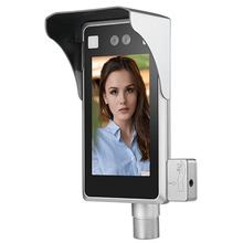手腕測溫人臉識別機D723捷易科技人臉識別手腕測溫儀圖片