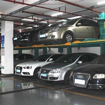 衡阳出租立体式机械车位租赁三层升降机械停车位