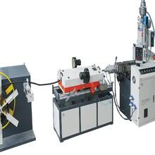 甘肃PVC波纹管生产线厂家图片