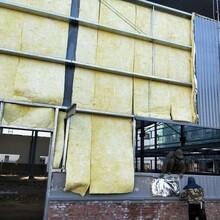 鋼結構保溫巖棉防火隔熱玻璃絲棉卷氈廠家直銷圖片