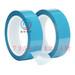 PET蓝色透明冰箱胶带打印机空调无痕胶带强力固定蓝色冰箱胶带