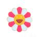 七彩色太陽花滴油胸針飾品金屬笑臉胸花定制徽章工廠批發