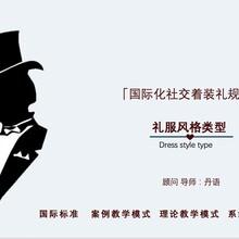 天津市著裝禮儀培訓結構圖片