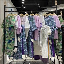 杭州原創大碼品牌女裝廠家直供品牌折扣女裝品牌女裝走份圖片