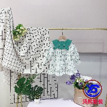杭州网红品牌亲鼓恒妙羽绒服品牌童装批发厂家货源图片