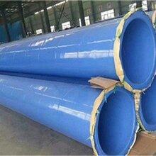 四川成都PPS内外涂塑钢管厂直销双面涂塑钢管环氧树脂涂覆钢管图片