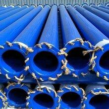 四川涂塑钢管厂家批发DN300DN400内外涂塑复合钢管给排水复合钢管图片