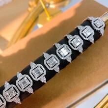 18K金50分钻石戒指戒圈可改图片
