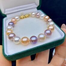 珍珠代理微商淡水全年手链母亲节图片