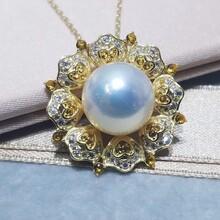 批发广州天州珍珠淡水珍珠爱迪生招商代理加盟一件代发图片