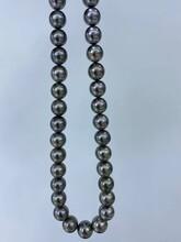 珍珠项链中珍珠海水大溪地珍珠广州深圳珠宝深圳南山珍珠图片